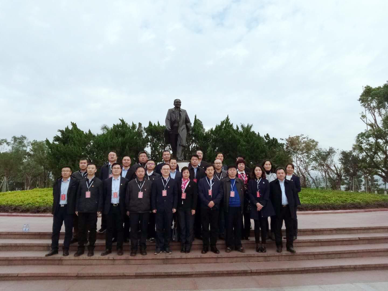 北京大兴区高端产业培训参观学习邓小平南巡讲话精神
